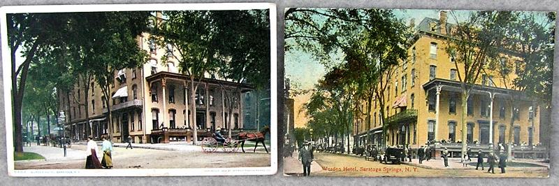 1910s United States Hotel, Saratoga Springs NY Postcard not applicable